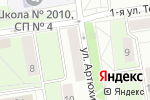 Схема проезда до компании Данила-Мастер в Москве