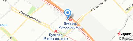 Crazy Paws.ru на карте Москвы