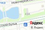 Схема проезда до компании Белый лебедь в Москве