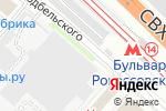 Схема проезда до компании Управление залогами в Москве