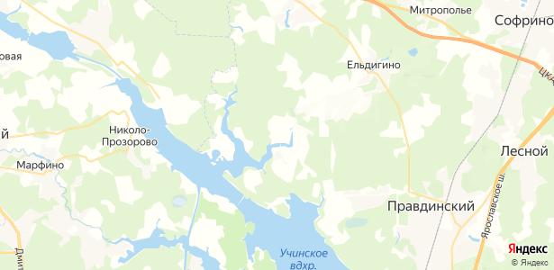 Тишково на карте