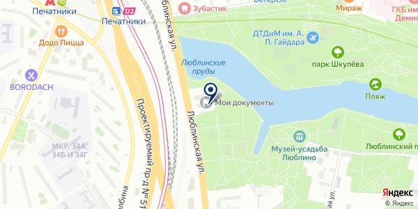 iBingo Страхование на карте Москве