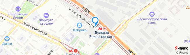 проезд Подбельского 6-й
