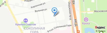 777 на карте Москвы