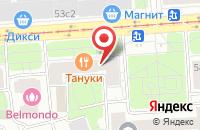 Схема проезда до компании Олитек в Москве