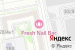 Схема проезда до компании Tork в Москве