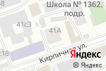 Схема проезда до компании Метобработка в Москве