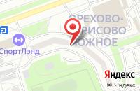 Схема проезда до компании Старс Медиа в Москве