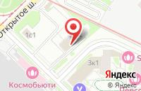 Схема проезда до компании Миваж в Москве