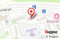 Схема проезда до компании Инструмент клуб в Сырском