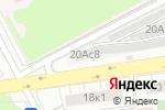 Схема проезда до компании Шиномонтажная мастерская на ул. Соколиной Горы 8-я в Москве