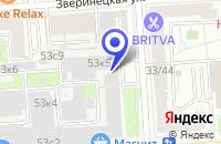 Схема проезда до компании ЮНИАС в Москве