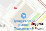 Схема проезда до компании Белорусский центр моды в Москве