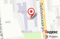 Схема проезда до компании Соцгарант-Информ в Москве