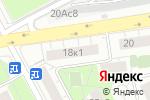 Схема проезда до компании БелОкна в Москве