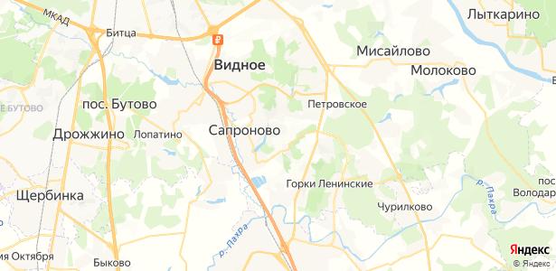 Пуговичино на карте