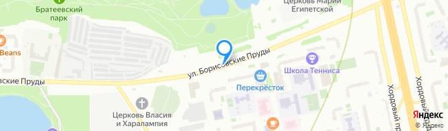 улица Борисовские Пруды