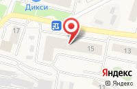 Схема проезда до компании Малина в Пироговском