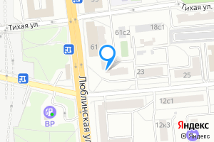 Сдается двухкомнатная квартира в Москве Люблинская ул., 61