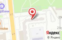 Схема проезда до компании Центр-Рекламы в Москве