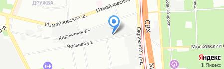 Суперпласт на карте Москвы