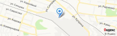 Iteo на карте Донецка