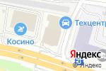 Схема проезда до компании Кифа в Москве