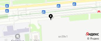 Зябликово-13 на карте Москвы