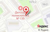 Схема проезда до компании Лето.Ру в Москве