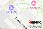 Схема проезда до компании Шмель Переезд в Москве