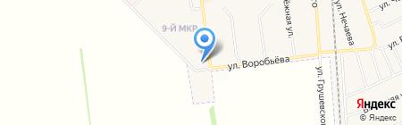 Русь магазин обуви и одежды на карте Авдеевки