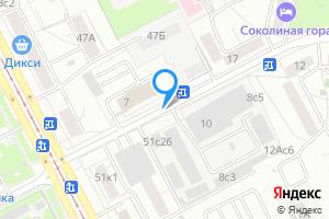 Однокомнатная квартира в Москве 3-я ул. Соколиной Горы
