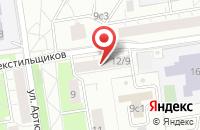 Схема проезда до компании Барокко-Р в Москве