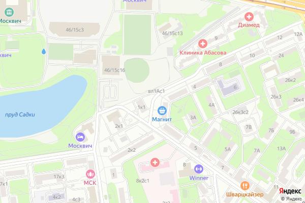 Ремонт телевизоров Улица 11 я Текстильщиков на яндекс карте