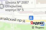 Схема проезда до компании Евросервис в Москве