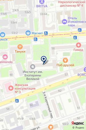 ЮРИДИЧЕСКАЯ ФИРМА ДАР-МР на карте Москвы