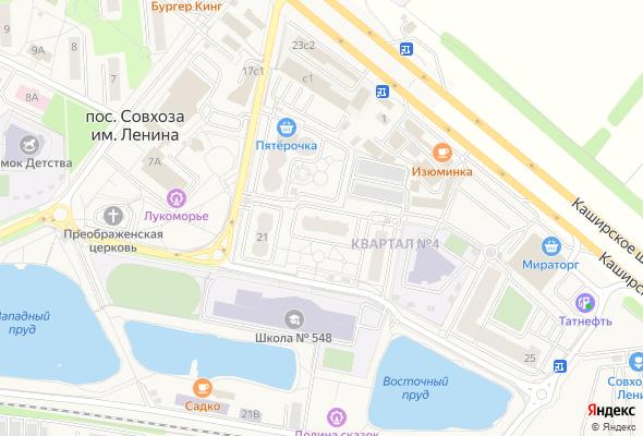 купить квартиру в ЖК Жилой квартал №4, корп.4