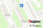 Схема проезда до компании Rozali в Москве