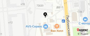 Fast Garage на карте Москвы