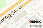Схема проезда до компании Альфа Авто в Москве