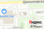 Схема проезда до компании Красногвардейский в Москве