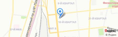 Московский компьютерный сервис на карте Москвы