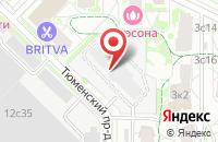 Схема проезда до компании Мир Погрузчиков в Москве