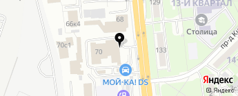 ЛегионАвто на карте Москвы