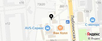 UG Auto на карте Москвы