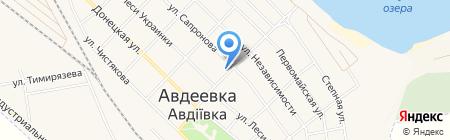 Кактус на карте Авдеевки