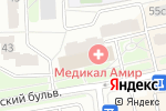 Схема проезда до компании Леди 5 в Москве