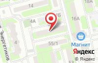 Схема проезда до компании Одион в Домодедово