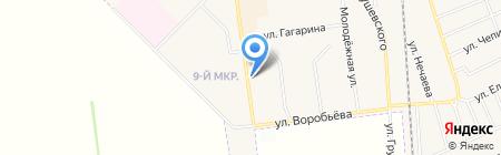 Киоск по продаже печатной продукции на карте Авдеевки