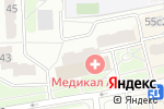 Схема проезда до компании L`ОБУВЬ в Москве